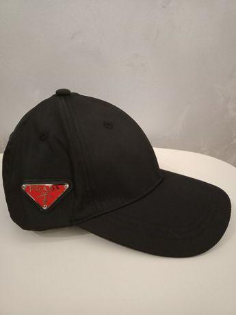 Prada czapka z daszkiem PRZECENA