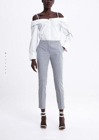 Zara spodnie w paski xs