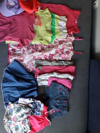 Ubranka zestaw dla dziewczynki na lato 116