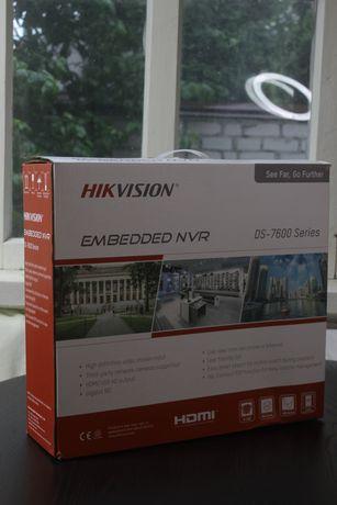 Регистратор Hikvision NVR DS-7616NI-K2/16P на гарантии!