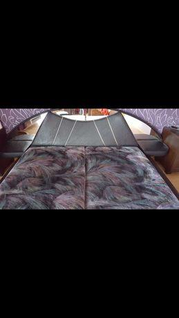 Łóżko do sypialni z materacami 140x200