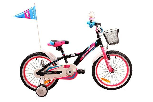 """Rower Northtec BMX Girl 18"""" nowy wysyłka"""
