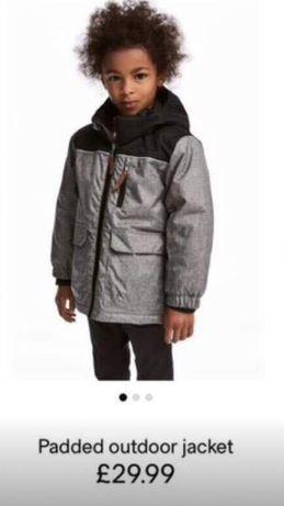 Куртка+шапка зима НМ 5-6