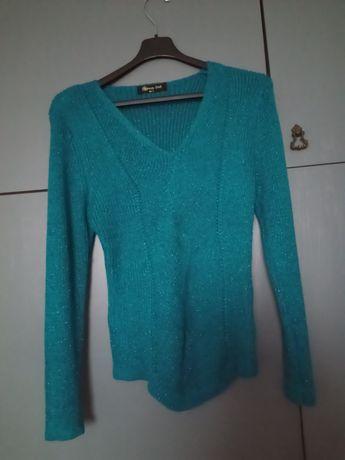 Brokatowy sweter