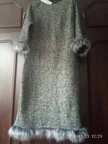 сукня,нова тепла трикотажна