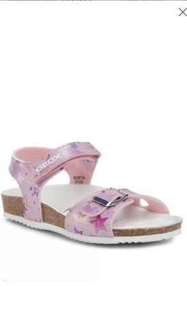 Geox sandały różowe rozm. 28 plus sandały lamino 28