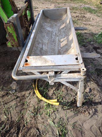Poidło wannowe dla bydła, wychylne , koryto do wody