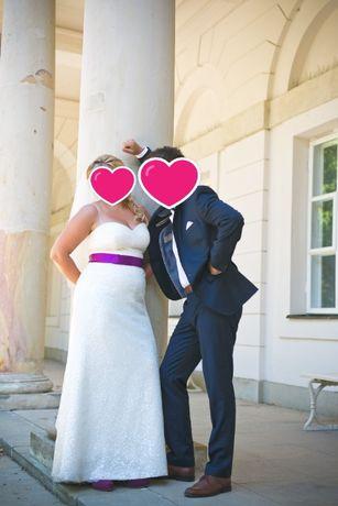 Suknia ślubna używana firma Gala model Hiro