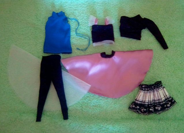Одежда Барби