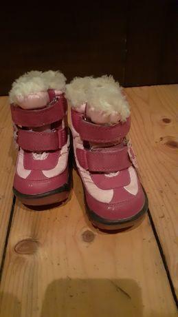 Сапоги сапожки для дівчинки термосапоги ботінки