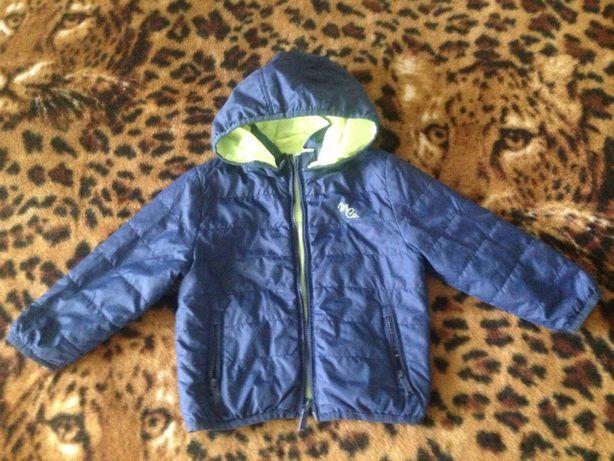 Демисезонная двусторонняя куртка для мальчика фирмы Mayoral р. 2 (92 с