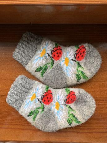 Детские шерстяные носки (из Закарпаття)