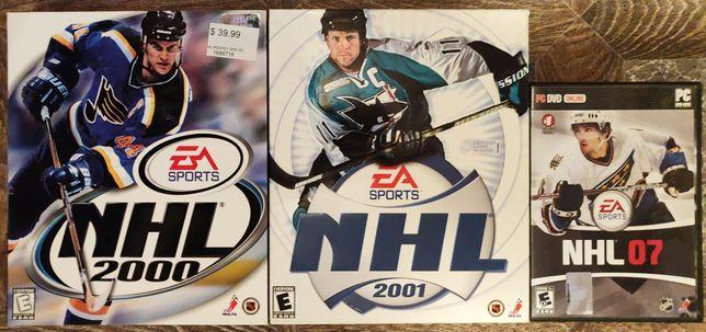 NHL 2000, NHL 2001, NHL 07 PC Big BOX Wrocław