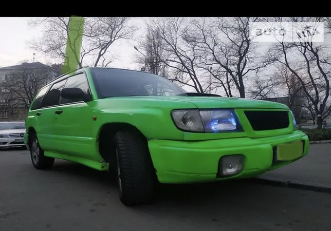 Subaru forester 1999 sf5  2.0 turbo чип