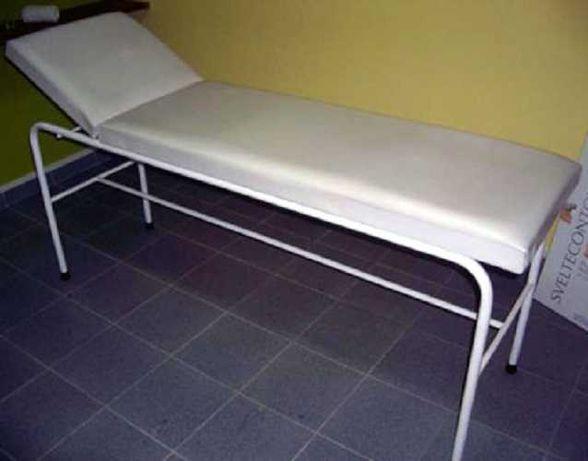 Marquesas clínicas / divãs de observação e mesas apoio rodas