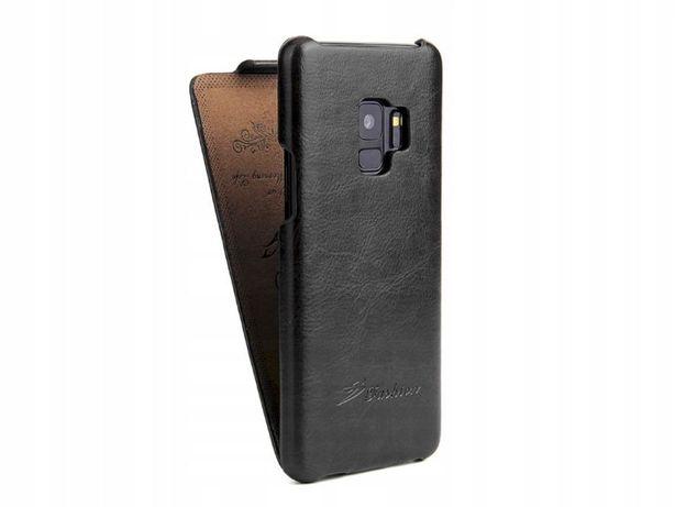Etui do SAMSUNG Galaxy S8, Galaxy S9, Galaxy S10, Skóra Case z Klapką