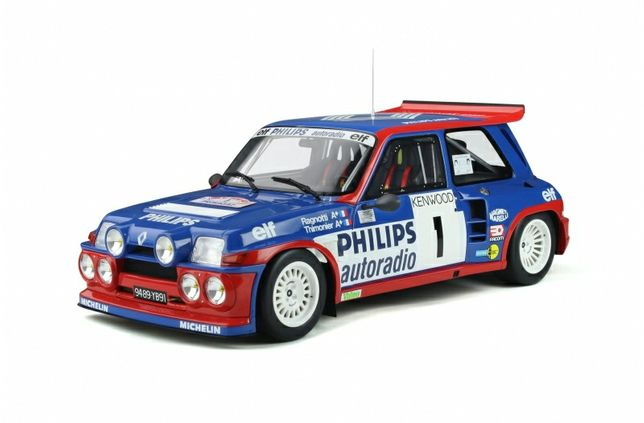 Otto mobile 1/12 renault 5 maxi turbo 1985