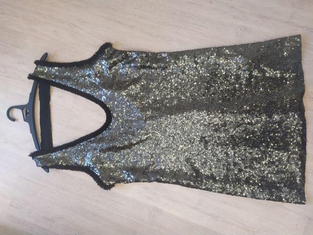 Платье Zara паетки