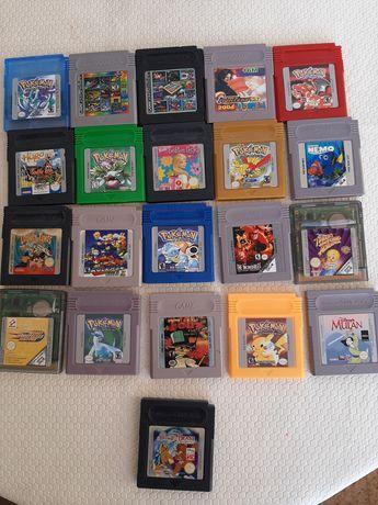 Jogos Game boy Color e Game BOY Advanse sp