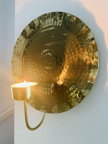 Kinkiety na świece