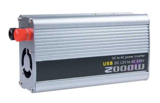 Инвертор DOXIN 2000 W преобразователь с 12 на 220 В