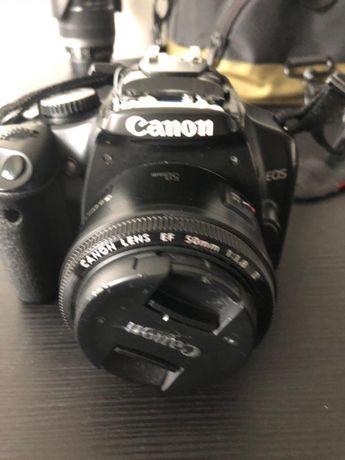Maquina Fotográfica Canon EOS 450D com lente