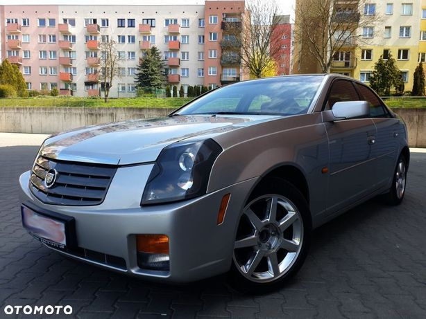 Cadillac Cts Cts 2.8v6 215km Xenon Skóry Nawi Szyber Dobra Cena