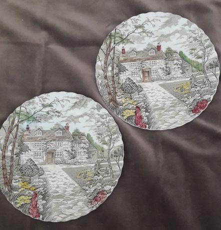 Porcelana inglesas 2 pratos