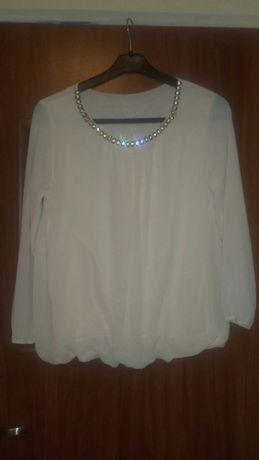 Kremowa bluzeczka :)