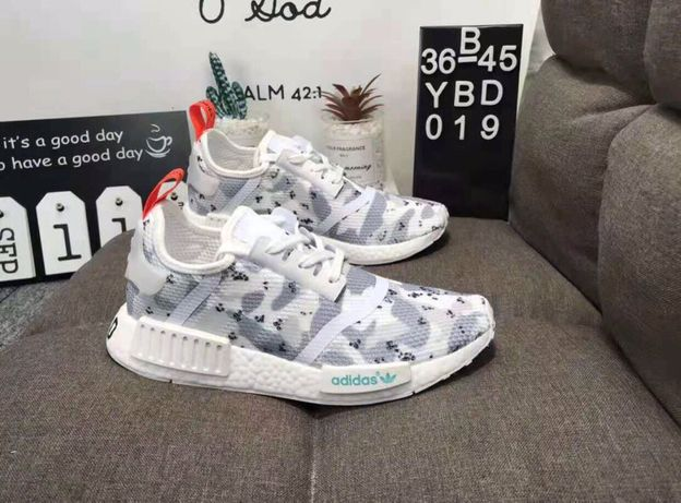Кроссовки adidas wmns nmd r1 camo pack white red g27933 39,40р