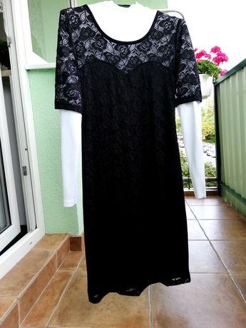 Mała czarna z koronką - roz. S/M