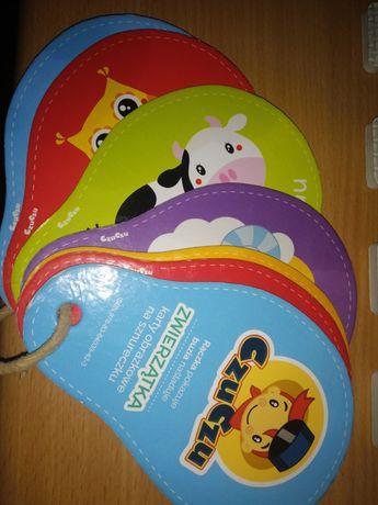 Karty zwierzątka CzuCzu