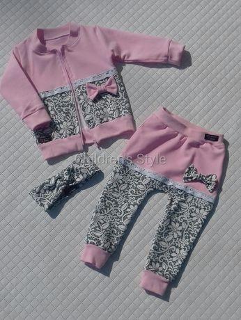 komplet. dres, spodnie, baggy, bluzka. opaska