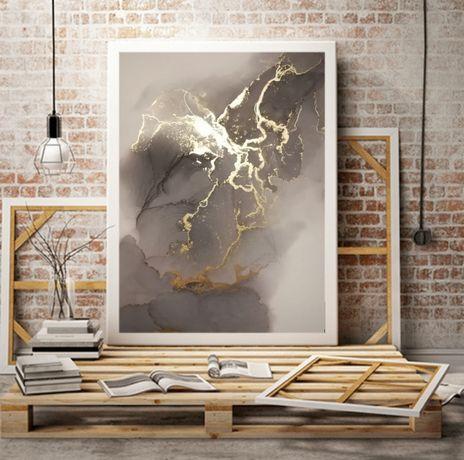 абстрактная интерьерная арт картина алкогольными чернилами (alcohol in