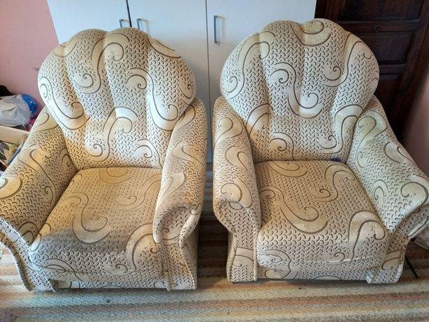 Fotel duży stylowy