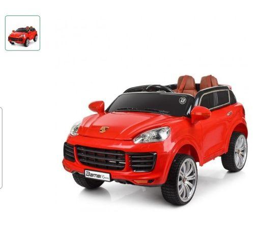 Детский электромобиль с пультом управления Bambi M 3557 EBLR красный
