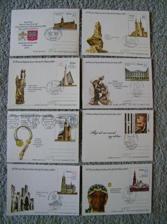 PRL - karta pocztowa - Jan Paweł II