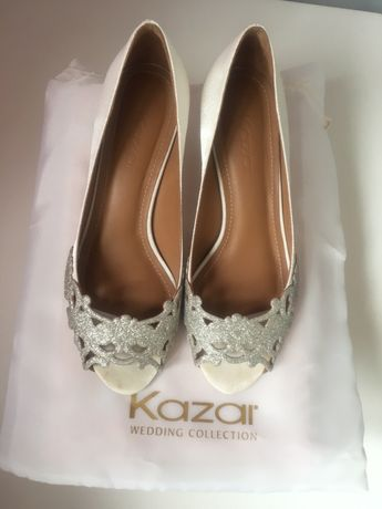 Buty ślubne Kazar r 36