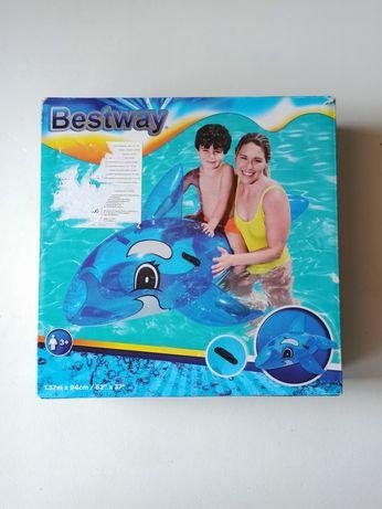 NOWY! Dmuchany delfin zabawka do wody Bestway
