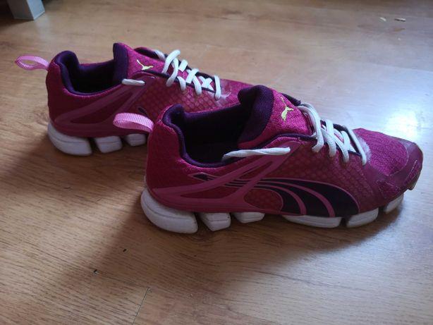 Buty damskie Puma Fitness do biegania różowe ombre