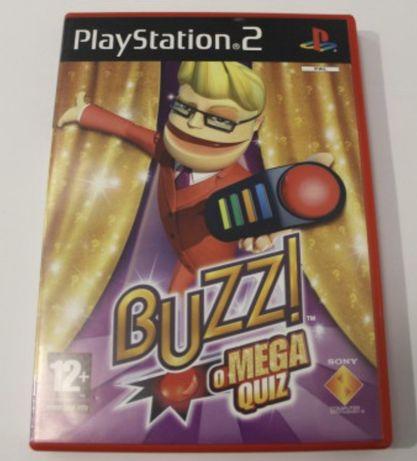 Buzz O Mega Quiz PS2 Playstation 2 Jogo PT
