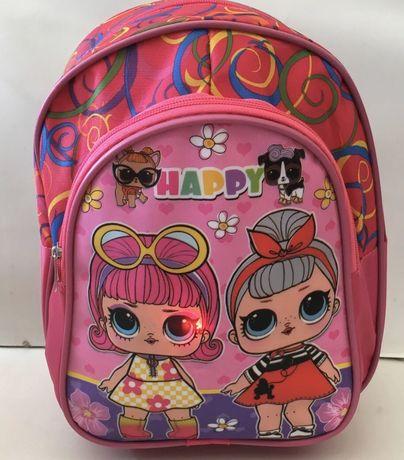 Новый рюкзак для девочки с куколками Lol.
