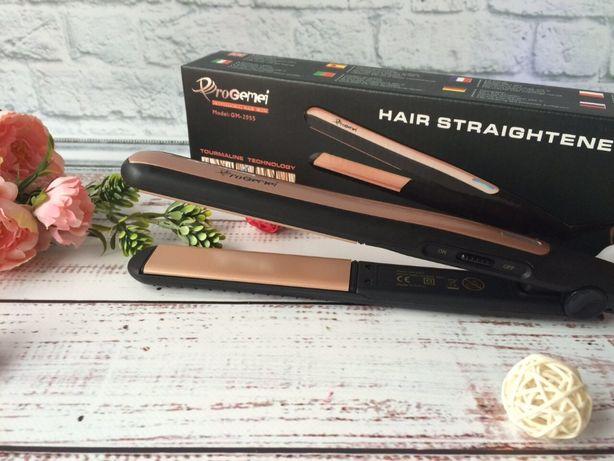 Утюжок выпрямитель для волос Gemei GM-2955 | выравниватель либо гофре