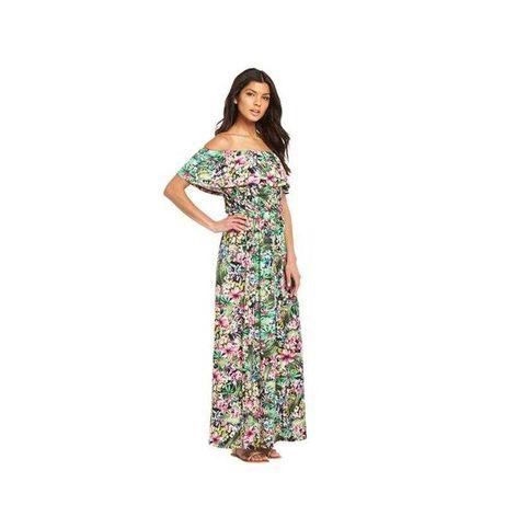 Стильні махі  платтячка з квітковим принтом