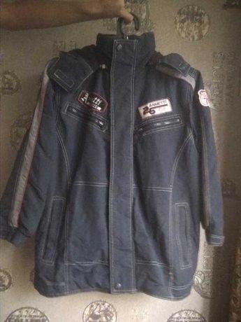 Куртка демисезонная на флисовой подкладке