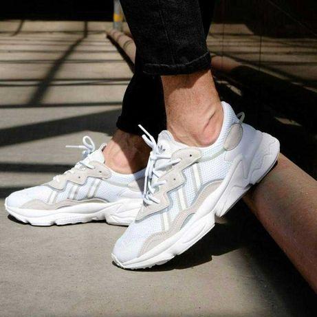 Adidas Ozweego White Yeezy/Сетка Лето/Адидас Озвиго/Качество Люкс