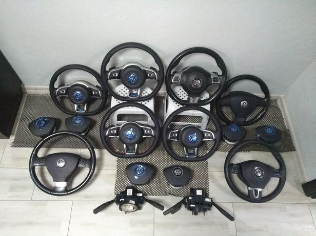 Руль golf 6,Passat b6 b7,Jetta usa,мультируль,Tiguan руль R Line GTI
