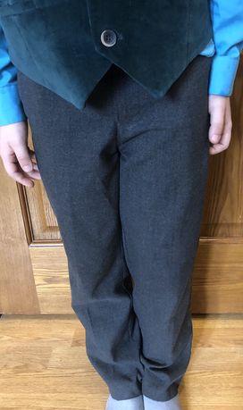 Штаны брюки George серые 7 лет 122 см 50 грн