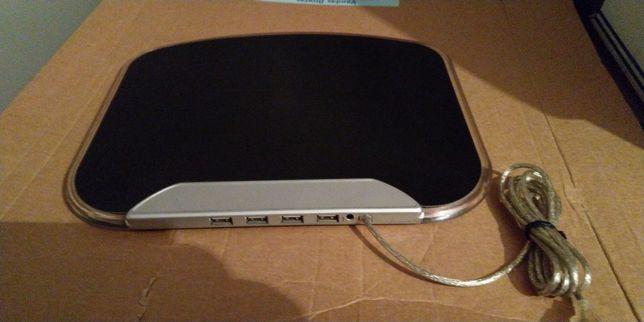 Tapete de Rato com Hub de 4 portas USB