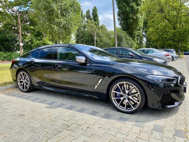 Wynajem BMW 850i Gran Coupe do ślubu, na event z kierowcą. Warszawa